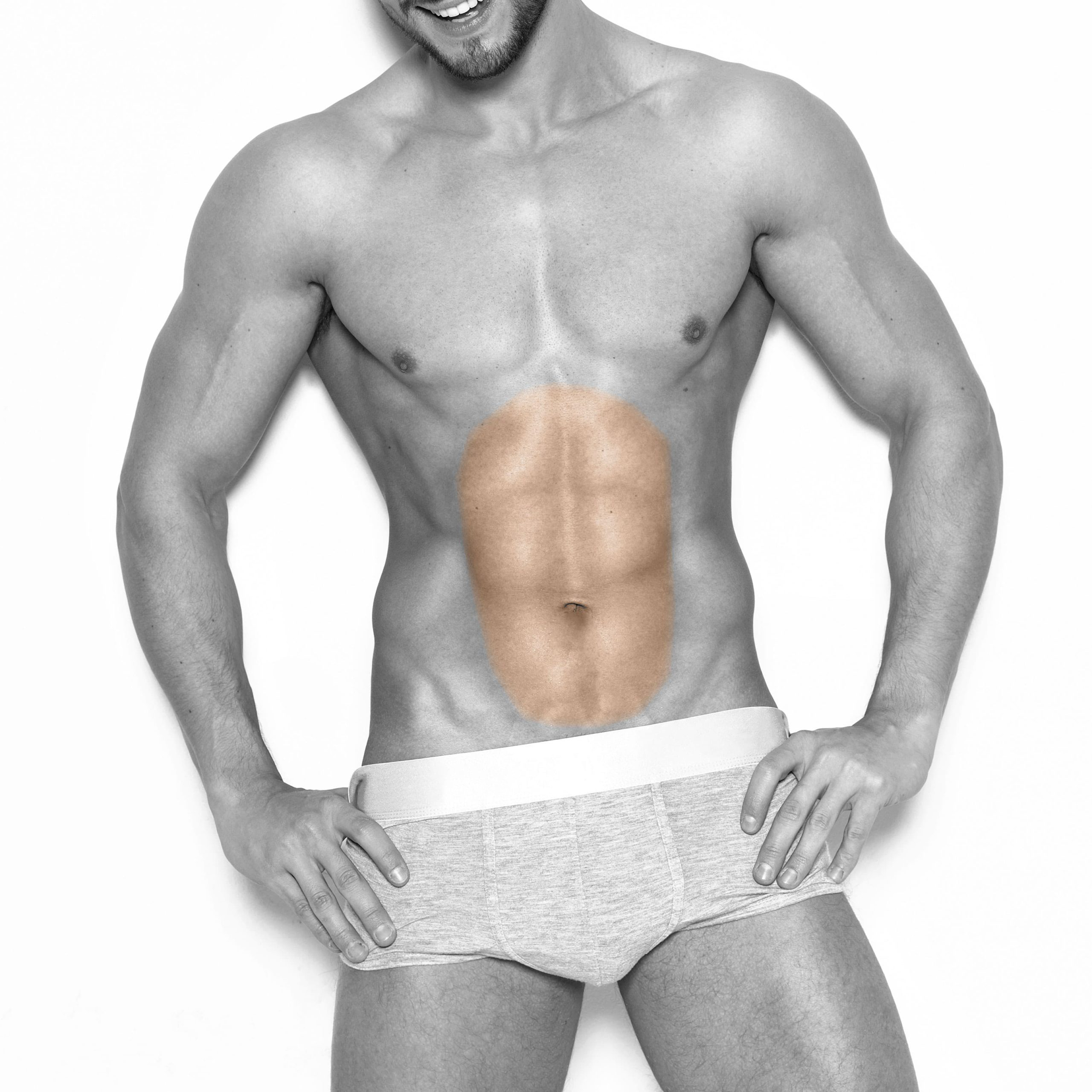 Men's Stomach Laser Hair Removal